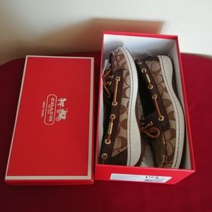 New in box Coach Shoes